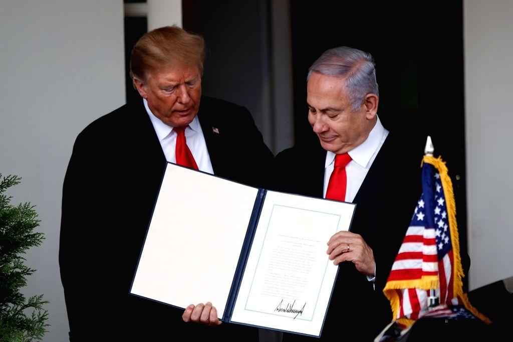 U.S. President Donald Trump and Israeli Prime Minister Benjamin Netanyahu - Benjamin Netanyahu