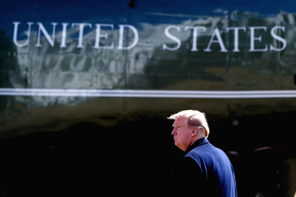 U.S. President Donald Trump. (Xinhua/Ting Shen/IANS)