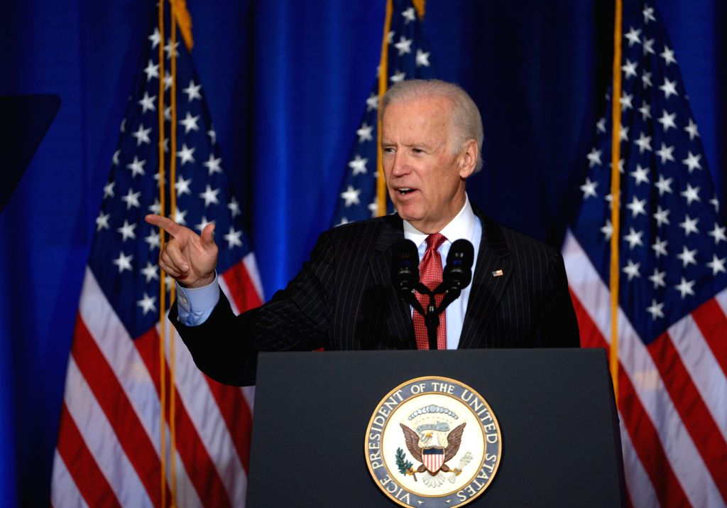 U.S. Vice President Joe Biden. (Xinhua/Yin Bogu/IANS))