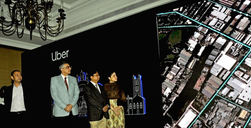 Uber Head (East India and Bangladesh) Ratul Ghosh, Uber India Head (Public Policy) Rajiv Agarwal and Housing Infrastructure Development Corporation (HIDCO) Chairman and Additional Chief ... - Ratul Ghosh