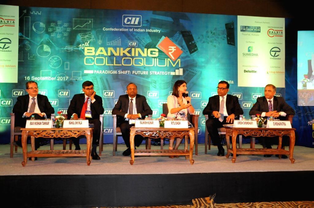 UCO Bank MD and CEO Ravi Kishan Takkar, Citibank Head of Corporate Banking for South Asia Rahul Shukla, SBI MD (National Banking Group) Rajnish Kumar, Confederation of Indian Industry (CII) ... - Asia Rahul Shukla and Rajnish Kumar