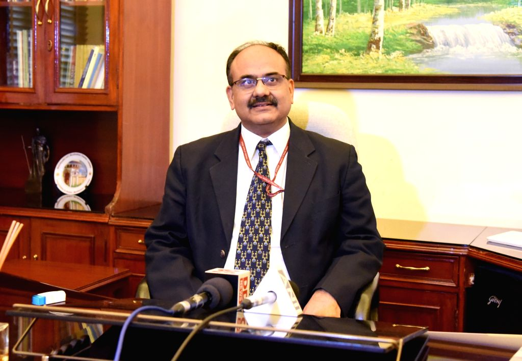 UIDAI CEO Ajay Bhushan Pandey take over as the Revenue Secretary in the Finance Ministry after Hasmukh Adhia retired in New Delhi on Nov 30, 2018. - Ajay Bhushan Pandey