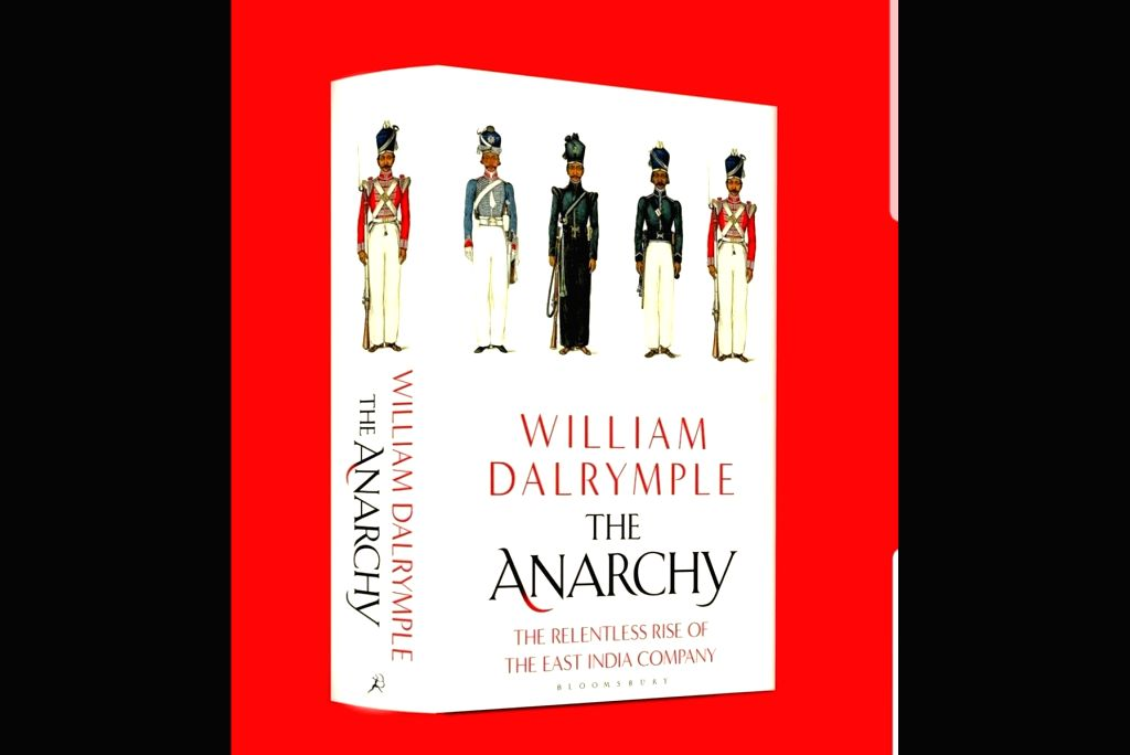 UK Cover of 'The Anarchy'.