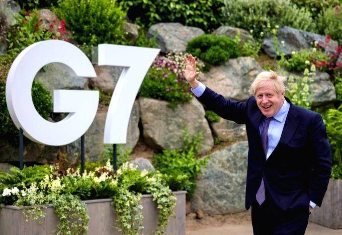 UK Prime Minister Boris Johnson in Cornwall for G7 Summit(pic credit: https://twitter.com/BorisJohnson) - Boris Johnson