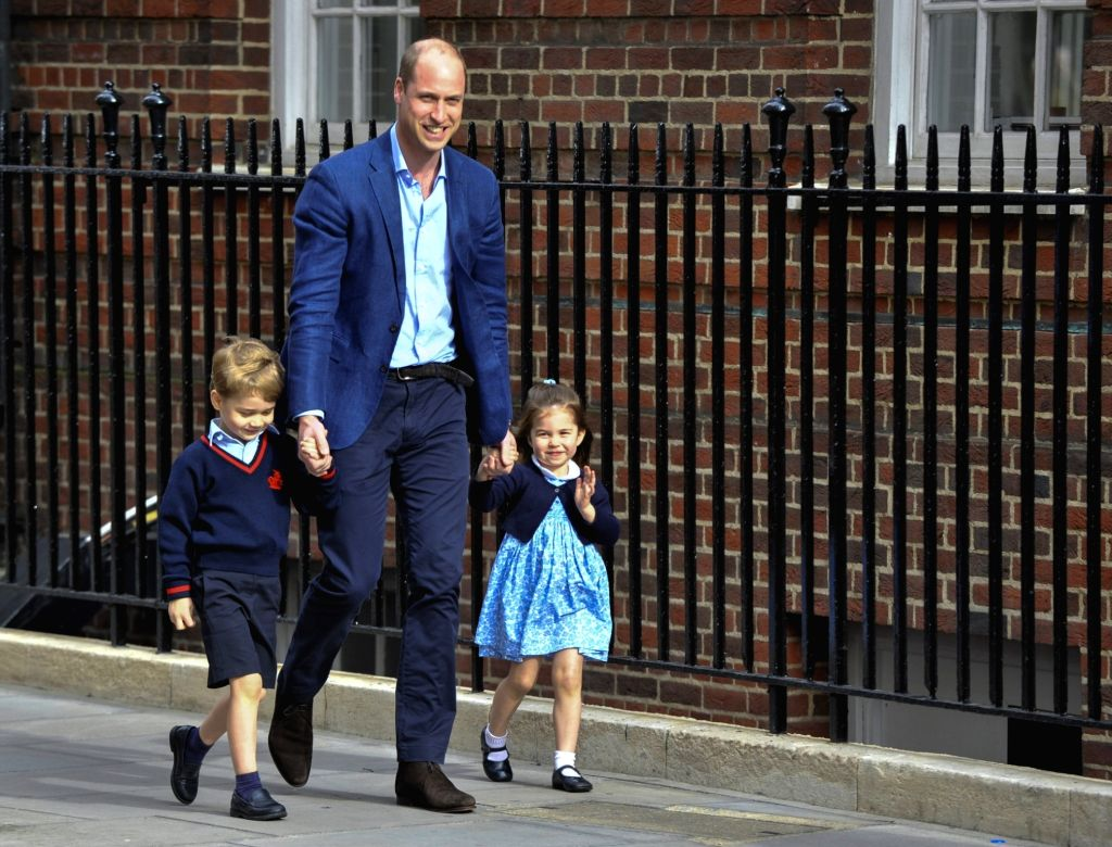 UK's Princess Charlotte celebrating 5th b'day with Zoom party