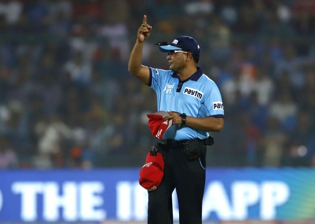 Umpire C Shamshuddin