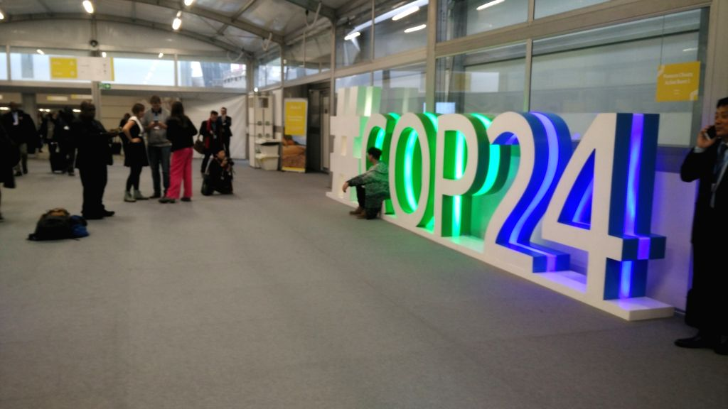 :UN Climate Change Conference in Katowice in Poland..