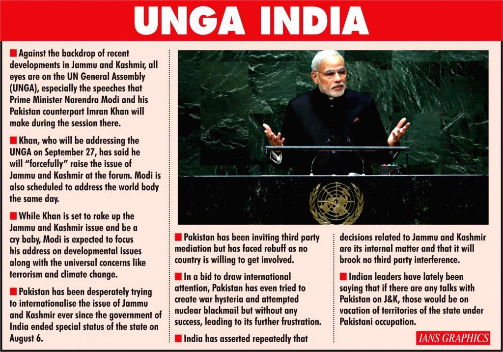 UNGA India. (IANS Infographics)