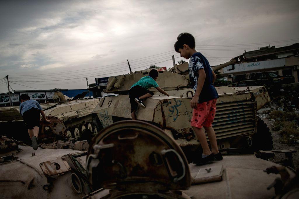 Unicef concerned over kids' death by landmine in Libya