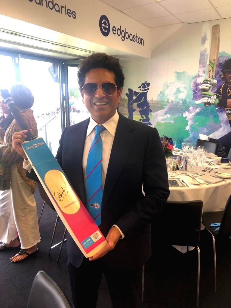 UNICEF Goodwill Ambassador and cricketing legend Sachin Tendulkar supports #OneDay4Children under the ICC Cricket for Good, partnership with UNICEF. - Sachin Tendulkar