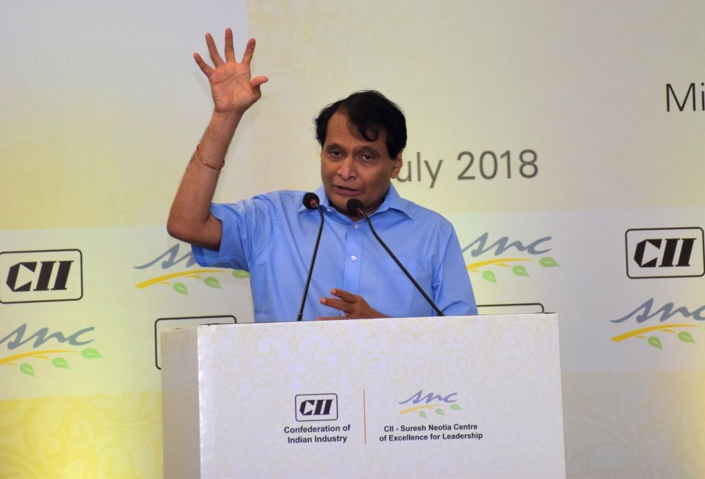 Union Commerce and Industry and Civil Aviation Minister Suresh Prabhakar Prabhu addresses at the 2nd Suresh Neotia Memorial Lecture on 'Future of World Trade in the Rising Clamour for ... - Suresh Prabhakar Prabhu