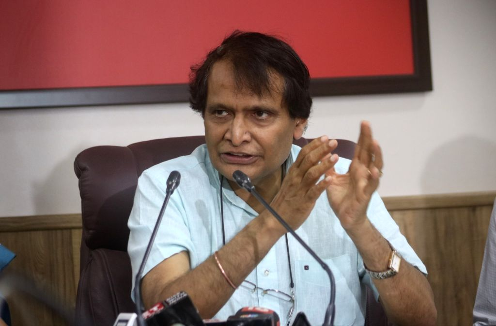 Union Commerce and Industry Minister Suresh Prabhakar Prabhu. - Suresh Prabhakar Prabhu