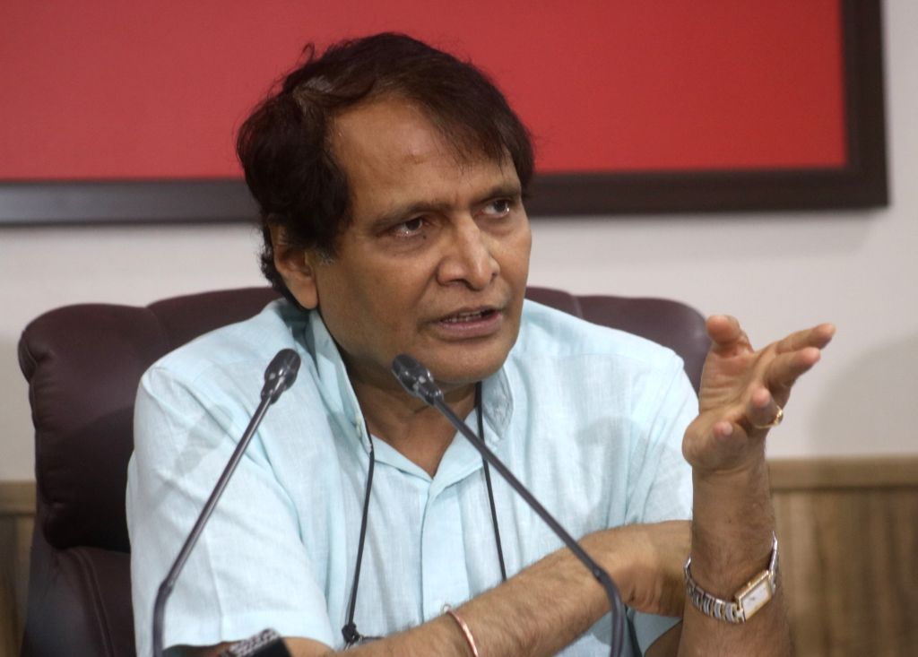 Union Commerce and Industry Minister Suresh Prabhakar Prabhu. (Photo: IANS) - Suresh Prabhakar Prabhu