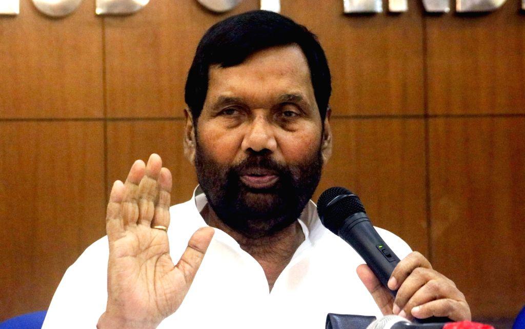 Union Consumer Affairs Minister Ram Vilas Paswan. (File Photo) - Ram Vilas Paswan