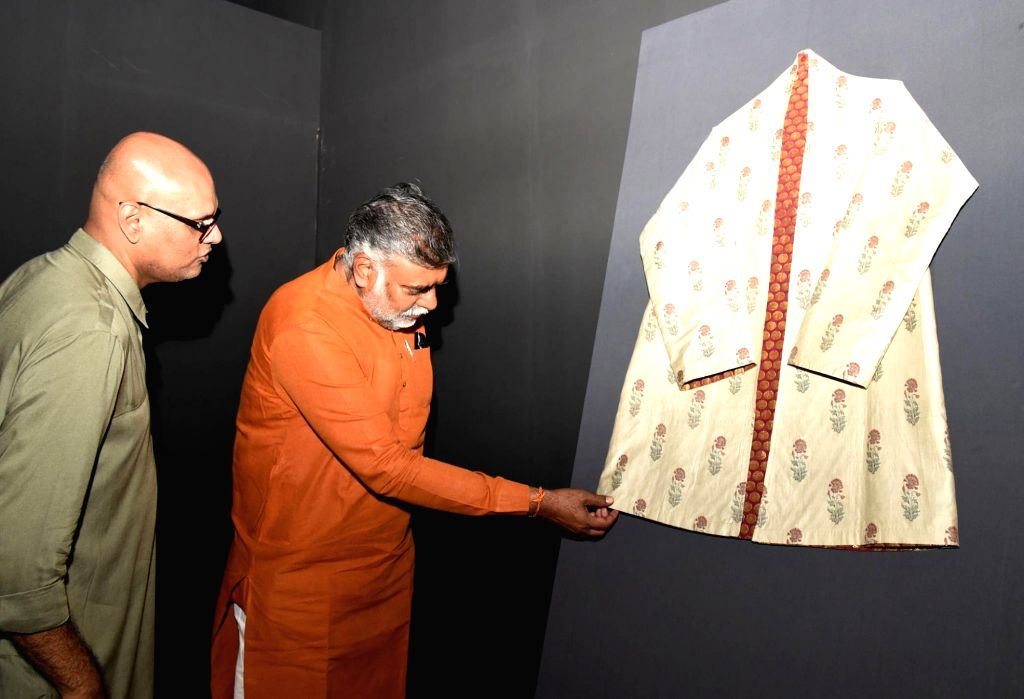 Union Culture Minister Prahlad Singh Patel at the inauguration of 'Travelling Exhibition Superbugs', in New Delhi on Sep 9, 2019. - Prahlad Singh Patel