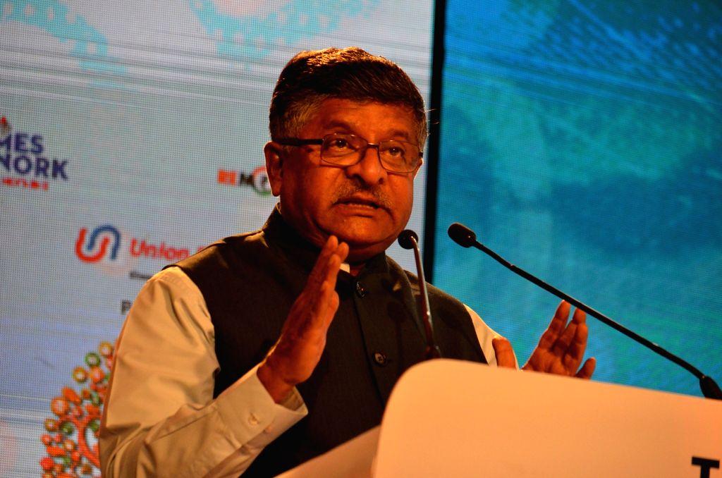 Union Electronics and Information Technology Minister Ravi Shankar Prasad. (File Photo: IANS) - Ravi Shankar Prasad