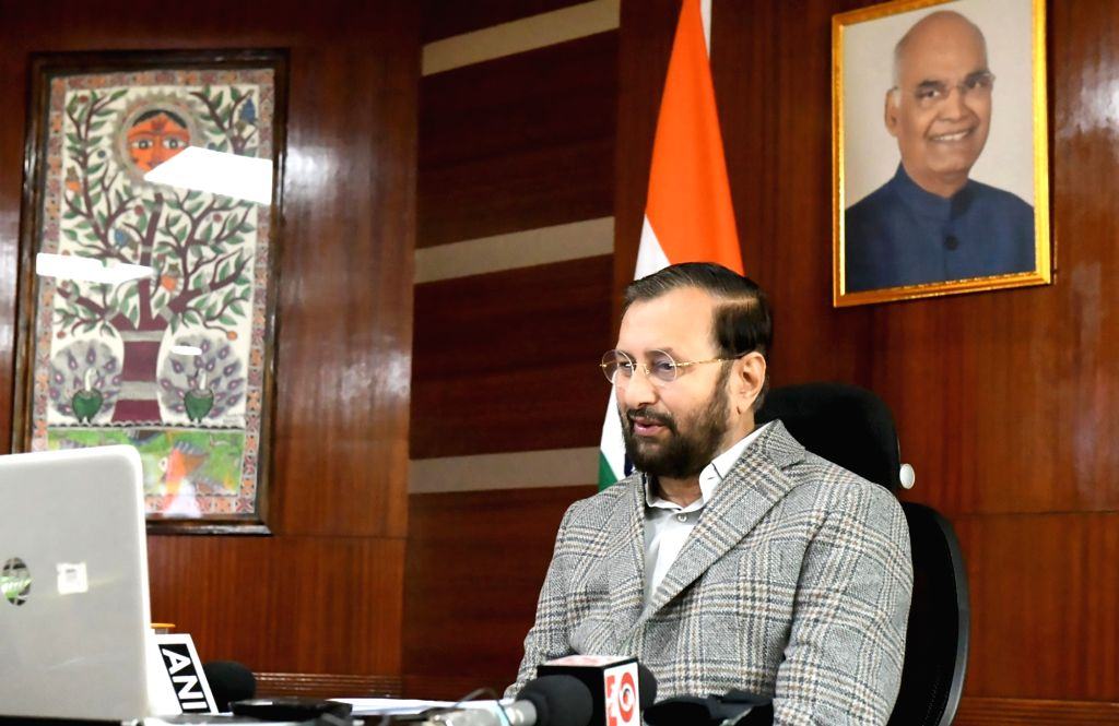 Union Environment, Forest & Climate Change, Information & Broadcasting and Heavy Industries and Public Enterprise Minister Prakash Javadekar virtually participates in the Industry ... - Prakash Javadekar