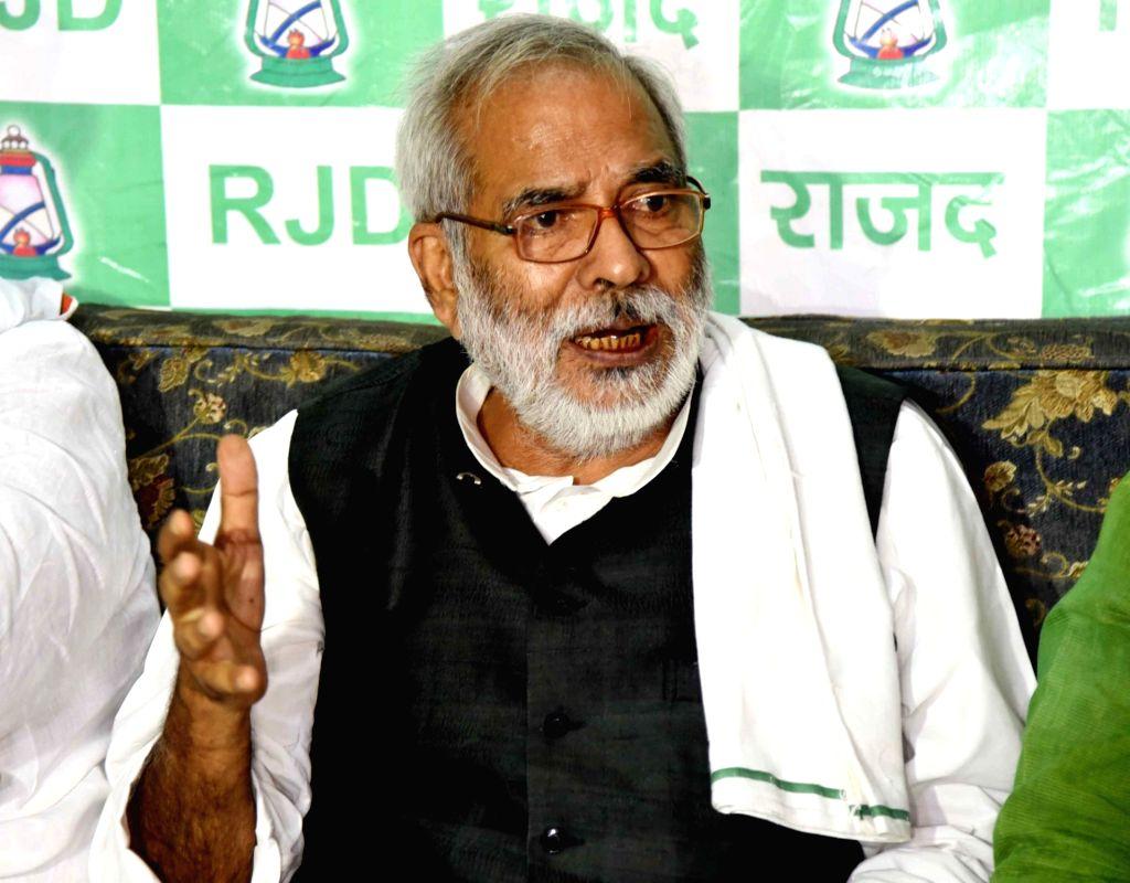 Union ex-Minister Raghuvansh Prasad dies at Delhi's AIIMS - Raghuvansh Prasad