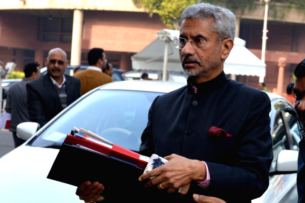 Union External Affairs Minister S Jaishankar at Parliament in New Delhi on Dec 4, 2019. - S Jaishankar