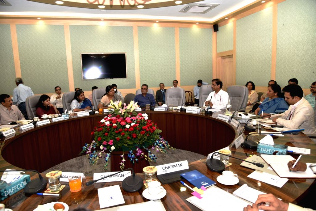 Union Finance and Corporate Affairs Minister Nirmala Sitharaman chairs Pre-Budget consultations with the representatives of Social Sector Groups in connection with the forthcoming General ... - Nirmala Sitharaman