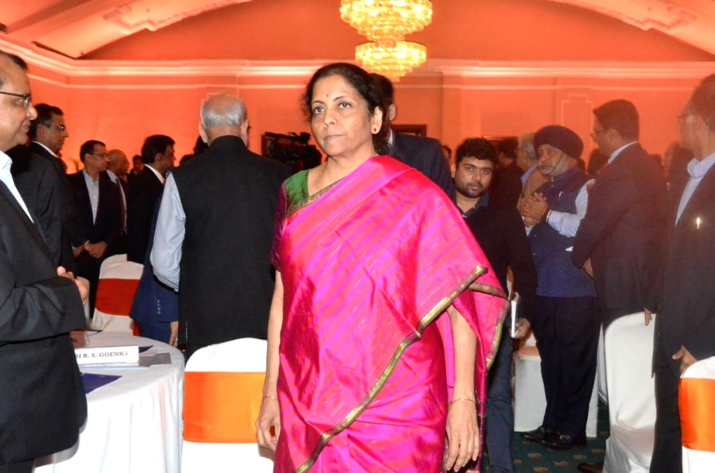 Union Finance and Corporate Affairs Minister Nirmala Sitharaman during an interactive session with opinion makers and reviewing their suggestion on Union Budget 2020, in Kolkata on Feb 9, ... - Nirmala Sitharaman