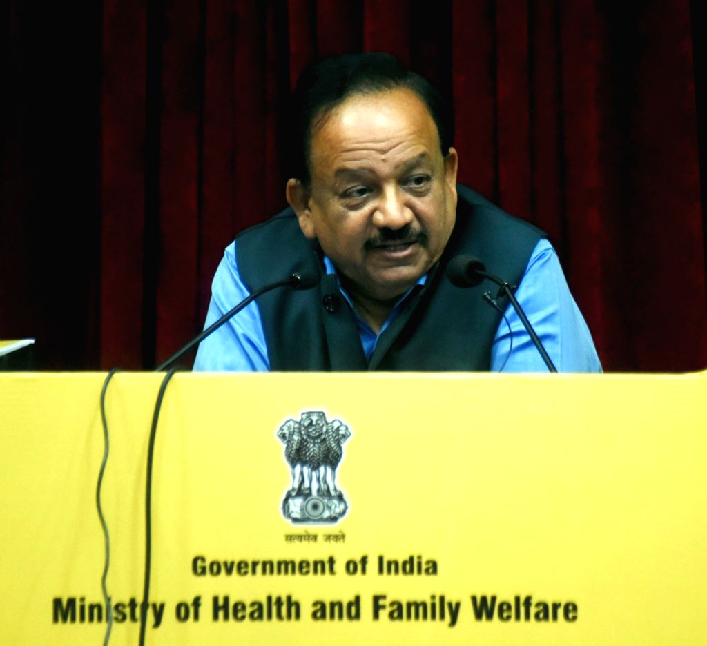 Union Health and Family Welfare Minister Harsh Vardhan addresses at the inauguration of the 13th Conference of the Central Council of Health and Family Welfare (CCHFW), in New Delhi on Oct ... - Harsh Vardhan