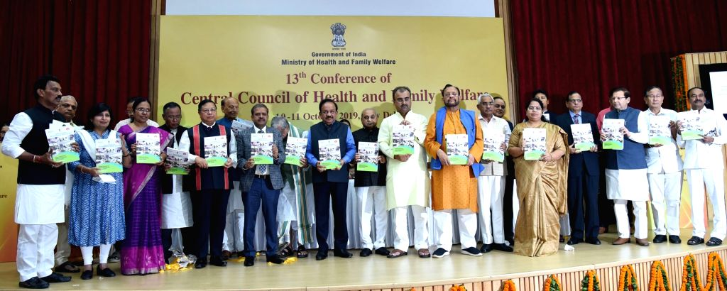 Union Health and Family Welfare Minister Harsh Vardhan releases report on National Blindness and Visual Impairment Survey India 2015-19, at the inauguration of the 13th Conference of the ... - Harsh Vardhan