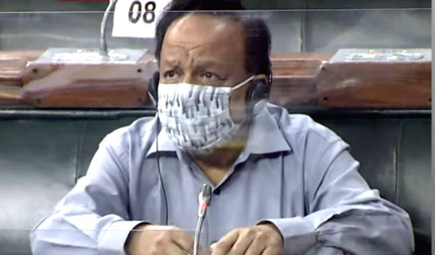 Union Health Minister Harsh Vardhan - Harsh Vardhan