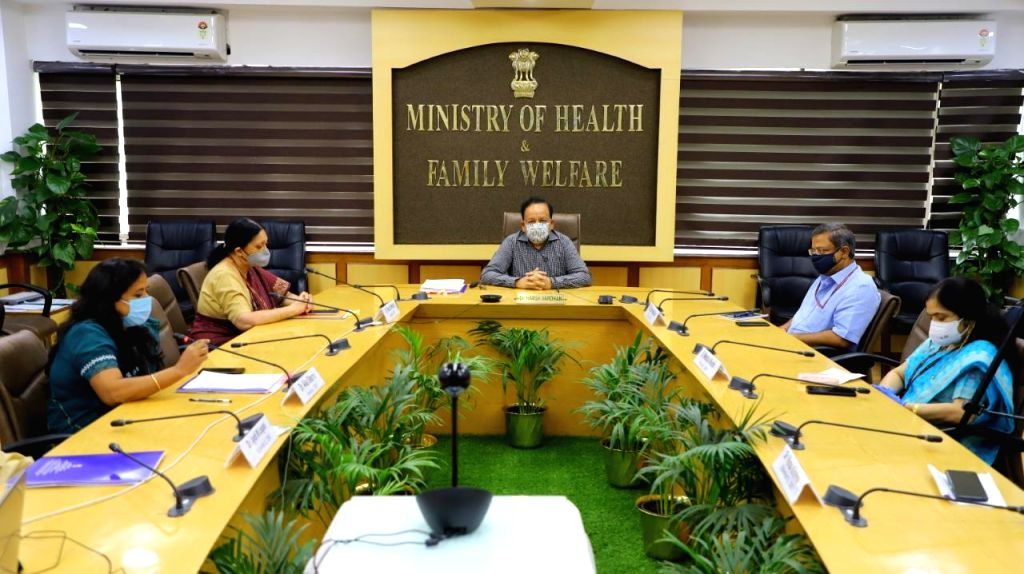Union Health Minister Harsh Vardhan chairs a meeting with the Department of Biotechnology and reviews the work done related to COVID-19 by the Department and BIRAC (Biotechnology Industry ... - Harsh Vardhan
