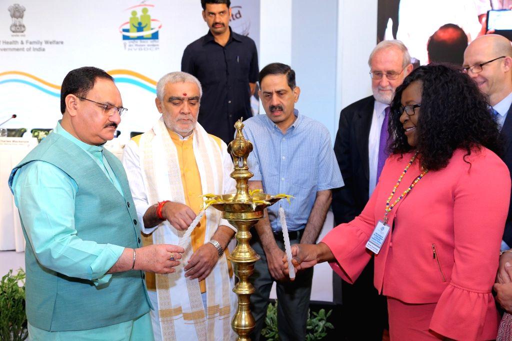 Union Health Minister J.P. Nadda inaugurates the 10th Meeting of Global Alliance to Eliminate Lymphatic Filariasis (GAELF) along with Union MoS Health and Family Welfare Ashwini Kumar ... - J.