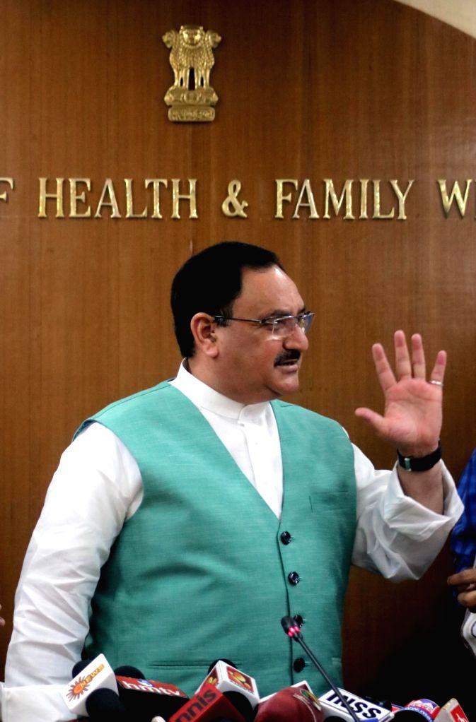 Union Health Minster JP Nadda. (File Photo: IANS)