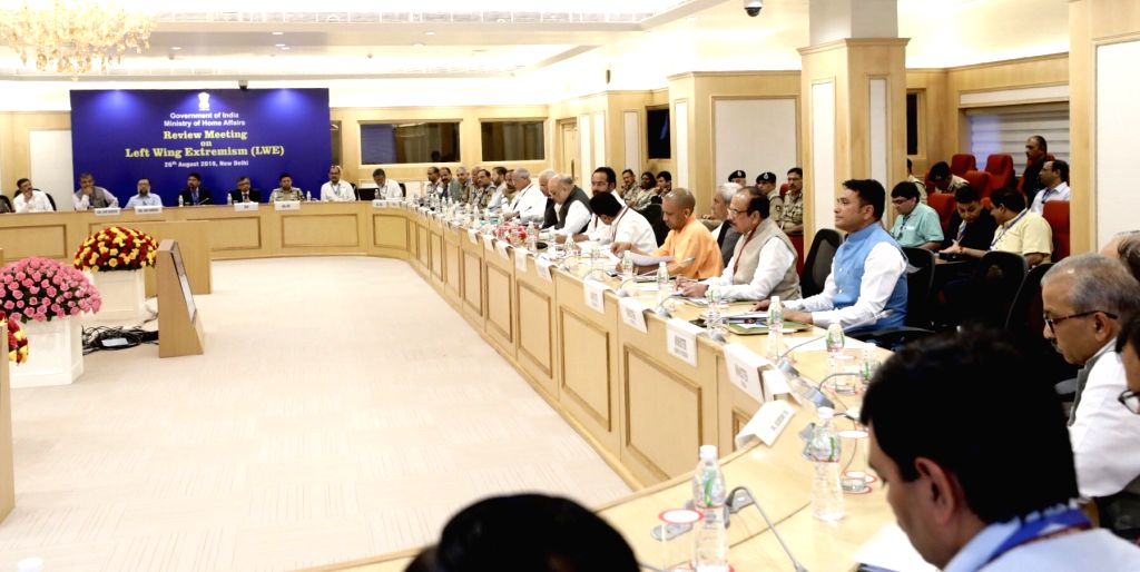 Union Home Minister Amit Shah chairs a meeting of all Chief Ministers of Maoist-affected states to review the operations against the insurgent groups and initiatives taken over the issue, ... - Amit Shah