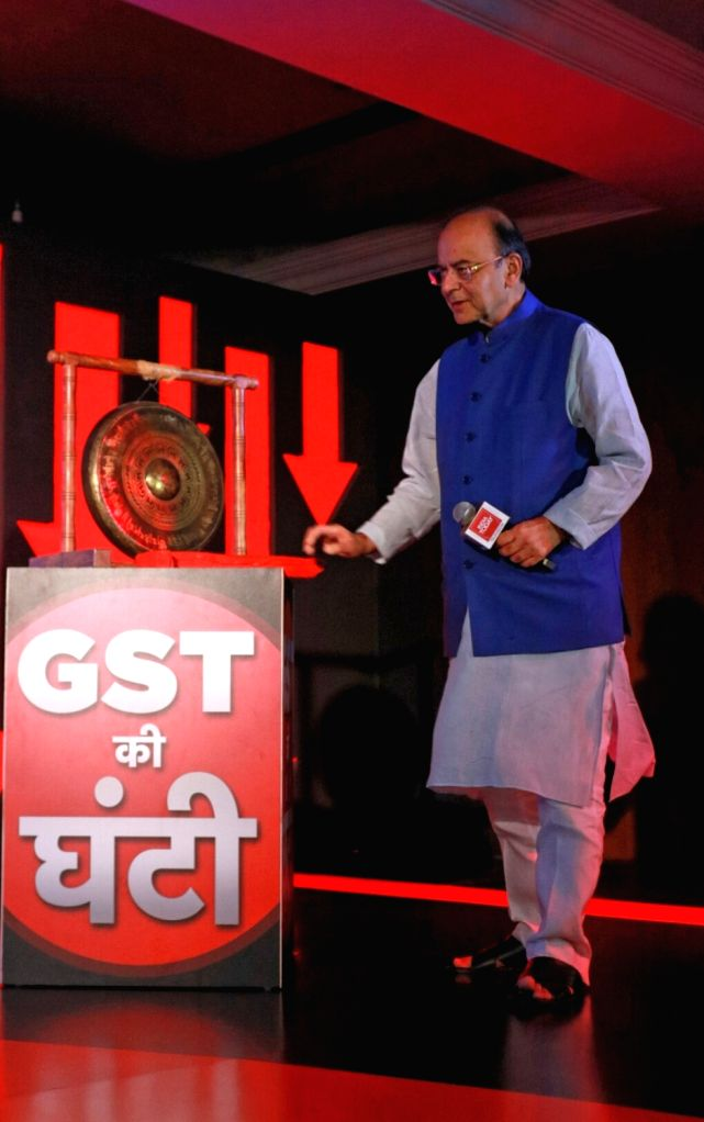 Union Minister Arun Jaitley during India Today's Midnight Conclave on GST in New Delhi, on June 30, 2017. - Arun Jaitley