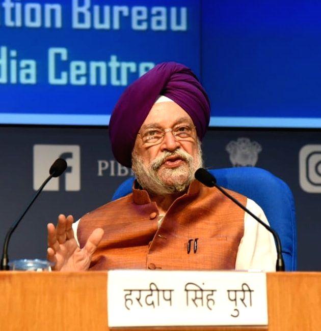 Union Minister for Civil Aviation Hardeep Singh Puri
