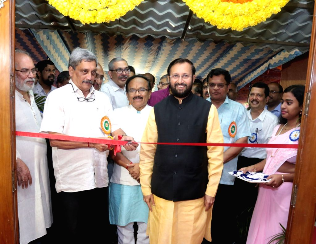 Union Minister for Defence Manohar Parrikar at the inauguration of IIT-Goa, at Farmagudi, Ponda, Goa on July 30, 2016. The Union Minister for Human Resource Development Prakash Javadekar and the ...