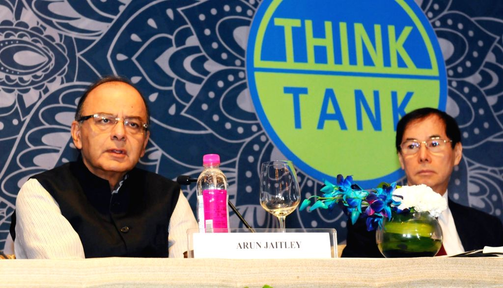 "Union Minister for Finance and Corporate Affairs Arun Jaitley addresses during a two-day 'Asian Think Tank Development Forum-2016' on the theme ""Promoting Sustainable Urbanization in ... - Affairs Arun Jaitley"