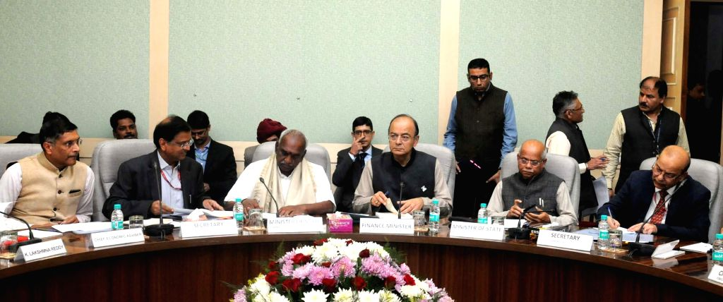 Union Minister for Finance and Corporate Affairs Arun Jaitley chairs the second meeting of Pre-Budget Consultative Meeting with the stakeholders groups from Agriculture Sector in ... - Affairs Arun Jaitley