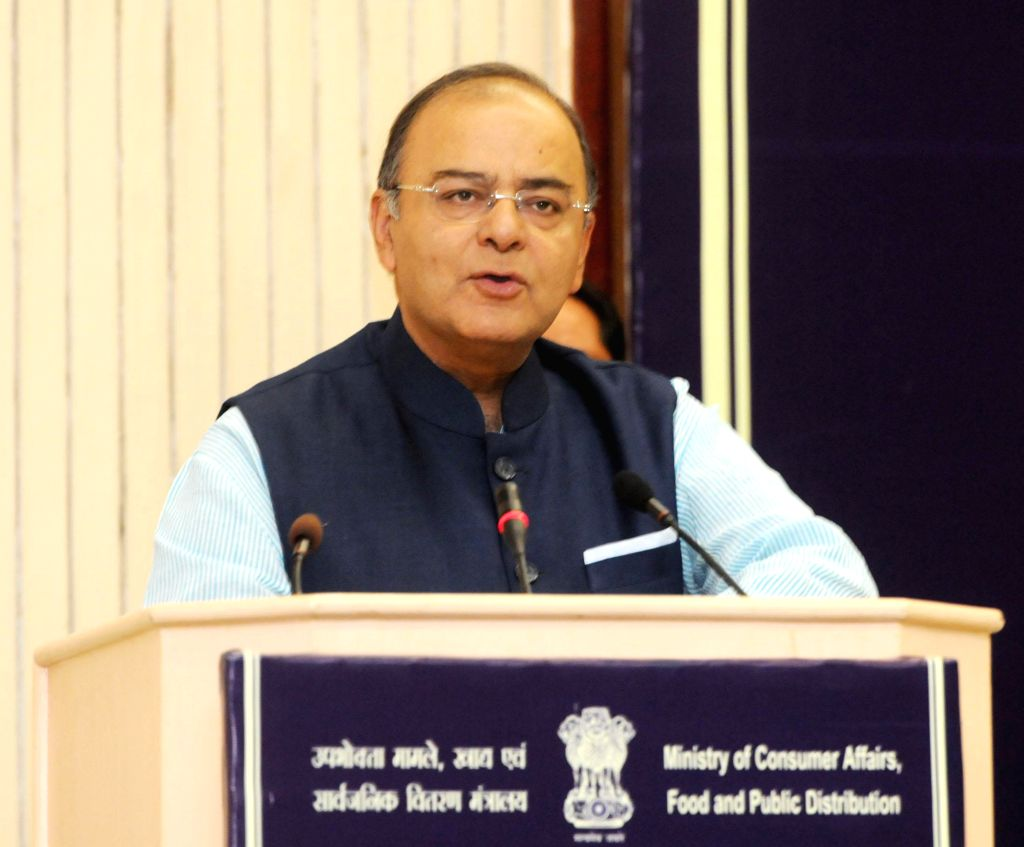 Union Minister for Finance, Corporate Affairs and Defence Arun Jaitley addresses State Food Ministers Conference in New Delhi on July 4, 2014.