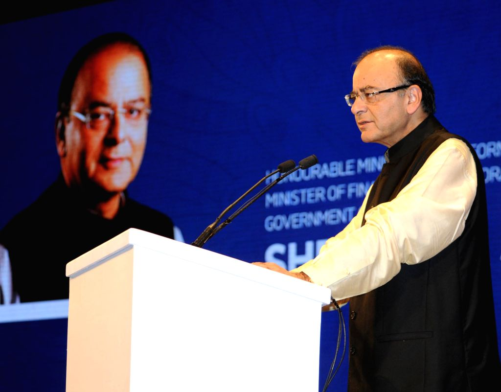 Union Minister for Finance, Corporate Affairs and Information & Broadcasting, Arun Jaitley addresses at the inauguration of the 46th International Film Festival of India (IFFI-2015), in ... - Arun Jaitley