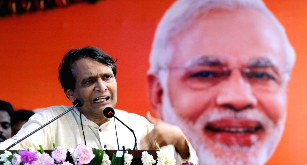 Union Minister for Railways Suresh Prabhu addressing at the inauguration/launch of the following facilities/initiatives namely 1. Inaugurating the Ayush – Traditional Indigenous Medical ... - Suresh Prabhu