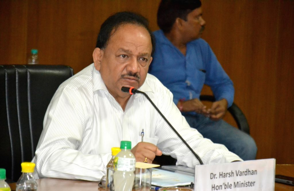 Union Minister for Science and Technology and Earth Sciences, Dr. Harsh Vardhan chairs the Brainstorming session with Senior Officers and Scientists of the Ministry of Earth Sciences, in ...
