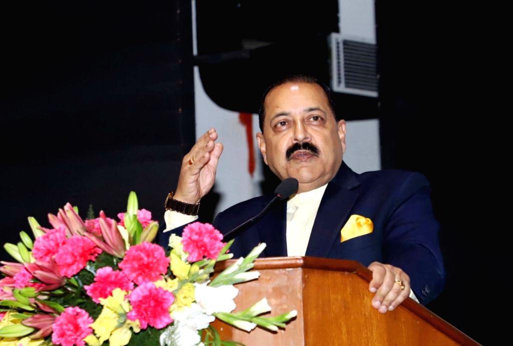 Union Minister Jitendra Singh addresses at the launch of 'Shisht Bharat Abhiyan', in New Delhi, on Feb 21, 2019. - Jitendra Singh