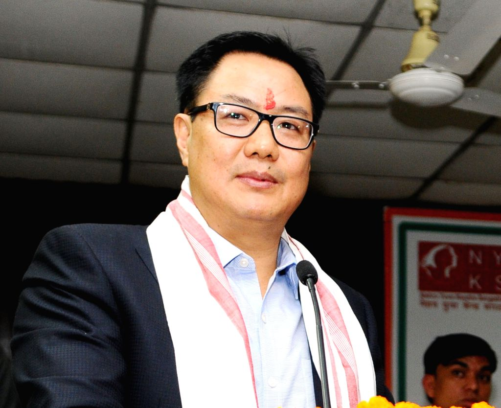 Union Minister of State for Home Affairs Kiren Rijiju. (File Photo: IANS)