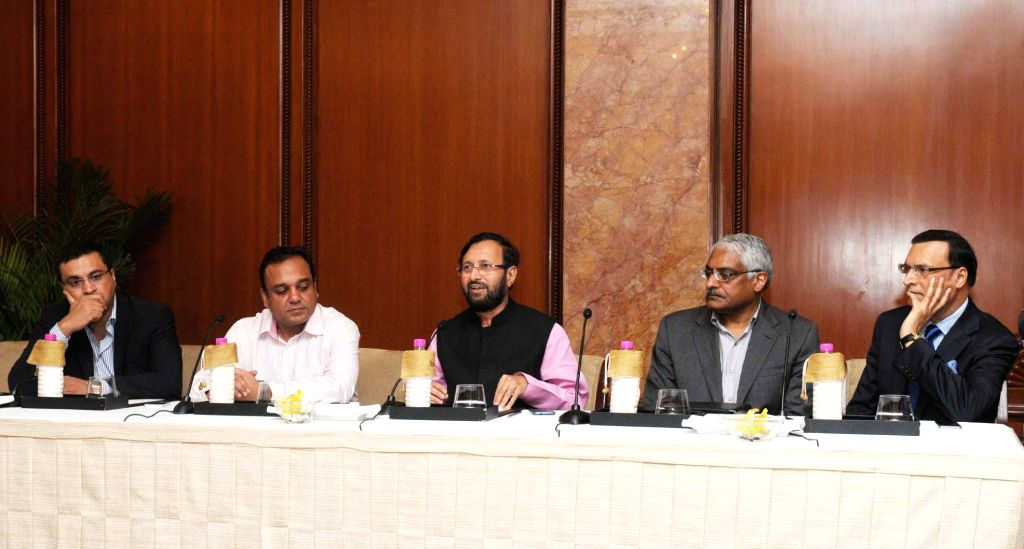 Union Minister of State for Information and Broadcasting (Independent Charge), Environment, Forest and Climate Change (Independent Charge) and Parliamentary Affairs, Prakash Javadekar address at 15th