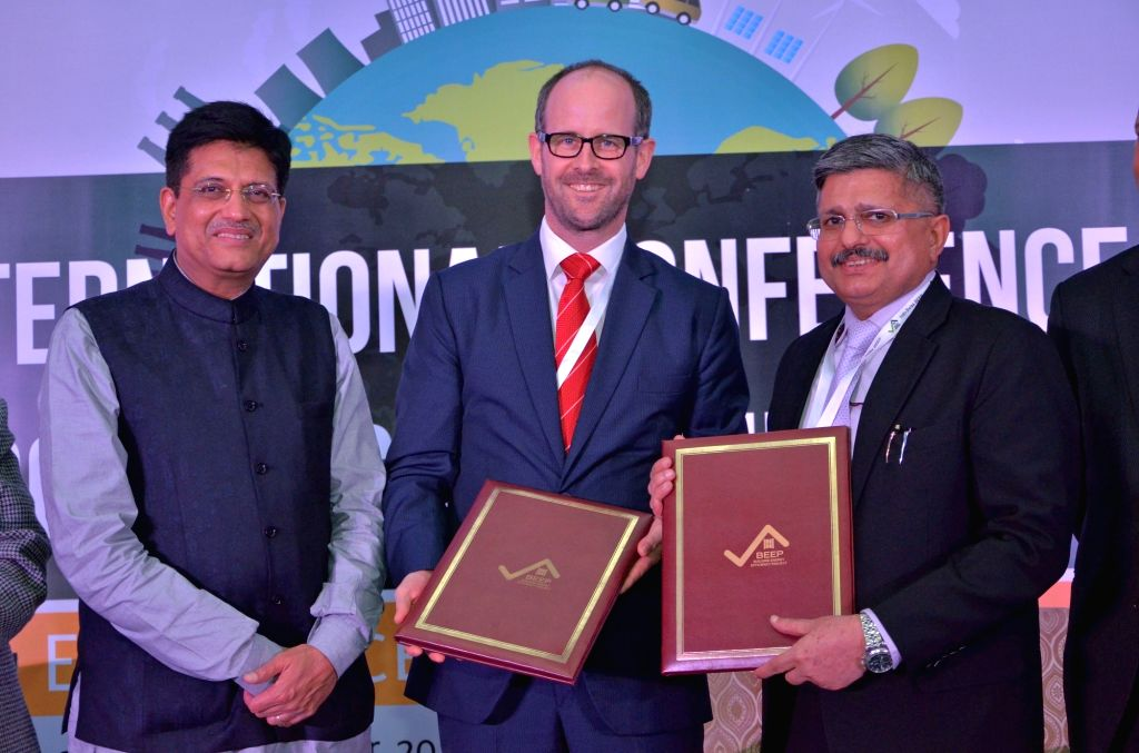 Union Minister of State for Power, Coal, New and Renewable Energy Piyush Goyal launches Design Guidelines for Energy-Efficient Multi-Storey Residential Buildings in presence of Charge ...