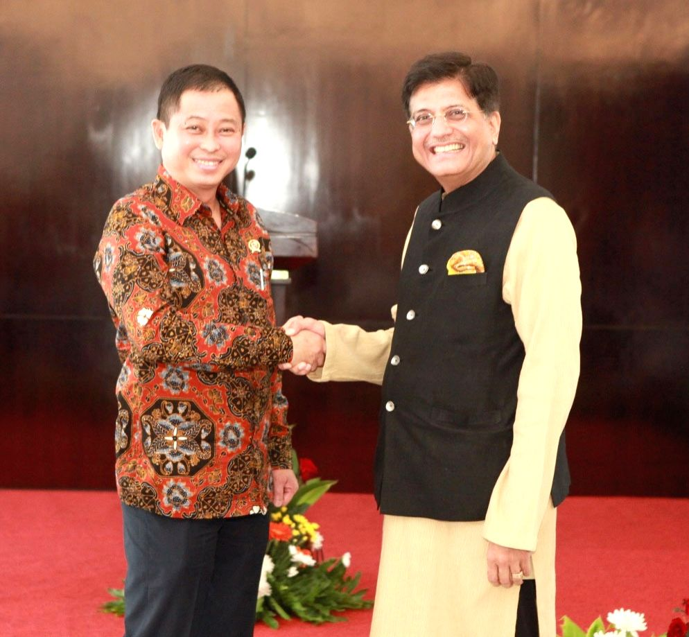 Union Minister of State for Power, Coal, New and Renewable Energy and Mines (Independent Charge) Piyush Goyal meets the Minister of Energy and Mineral Resources of the Republic of Indonesia ...