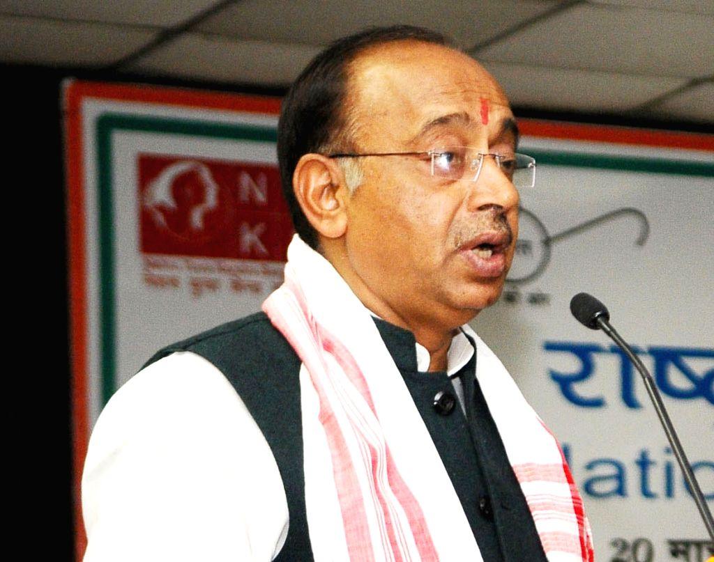 Union Minister Vijay Goel. (File Photo: IANS) - Vijay Goel