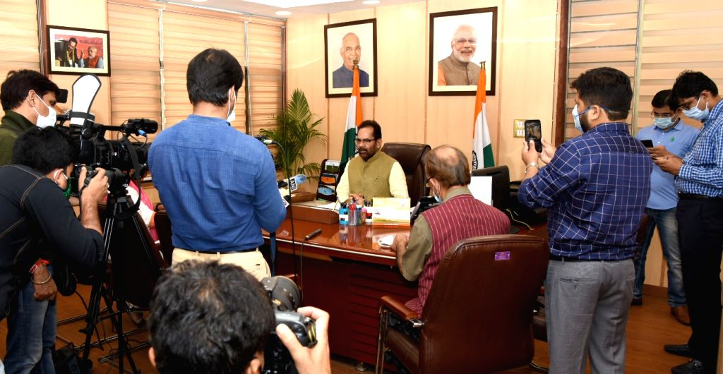 Union Minority Affairs Minister Mukhtar Abbas Naqvi informs the media that ???Muslims in India will not go to Saudi Arabia to perform Hajj this year???, honouring the decision of the Saudi ... - Mukhtar Abbas Naqvi