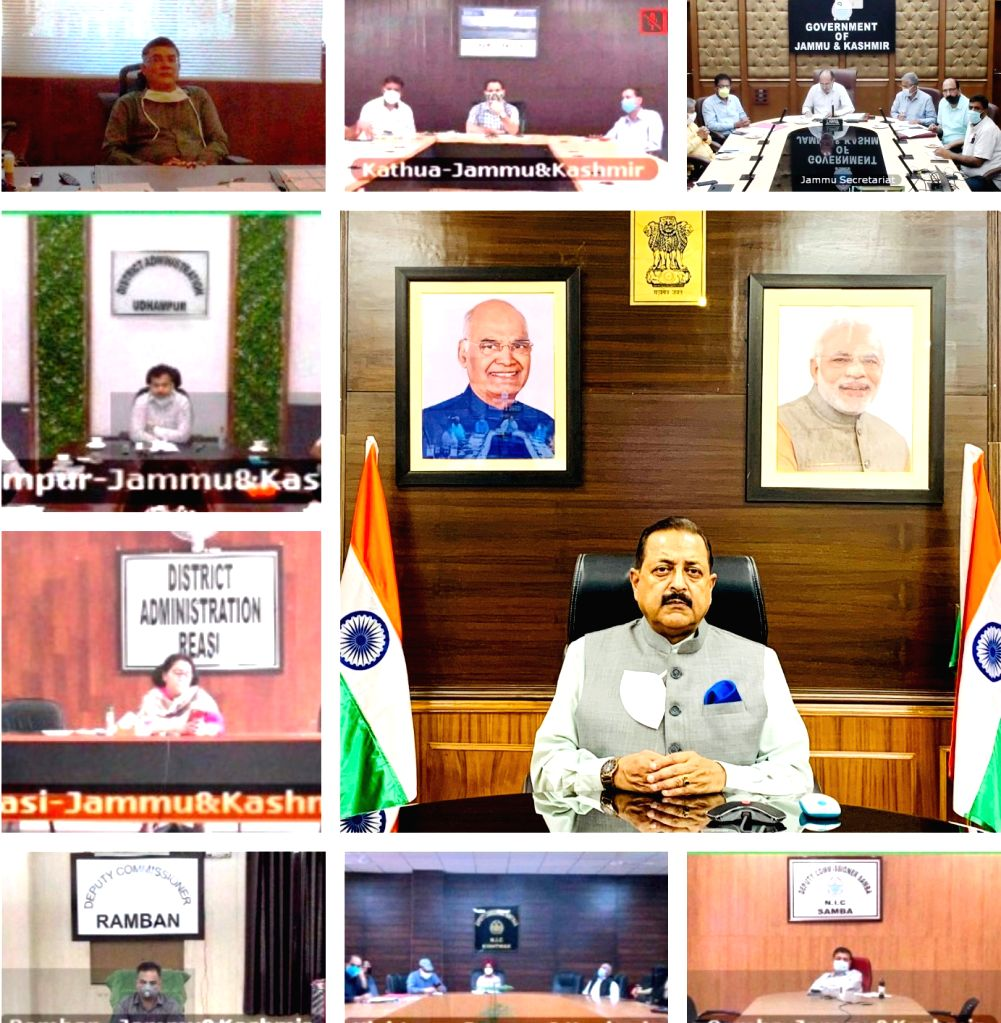 Union MoS Development of North Eastern Region (I/C), Prime Minister???s Office, Personnel, Public Grievances & Pensions, Atomic Energy and Space Jitendra Singh lays the foundation ... - Jitendra Singh