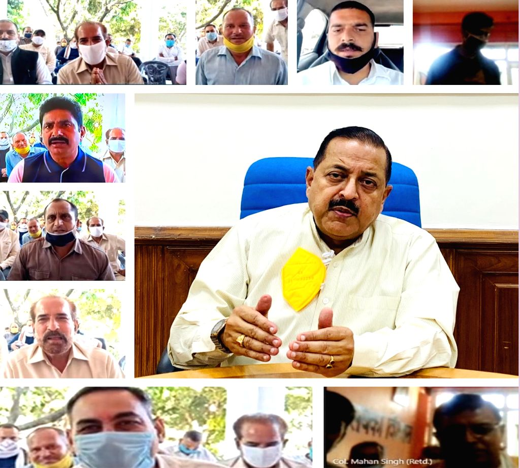 Union MoS Development of North Eastern Region (I/C), Prime Minister???s Office, Personnel, Public Grievances & Pensions, Atomic Energy and Space Jitendra Singh interacts with the ... - Jitendra Singh